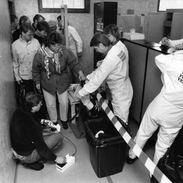 Mjerenje radijacije 1986.