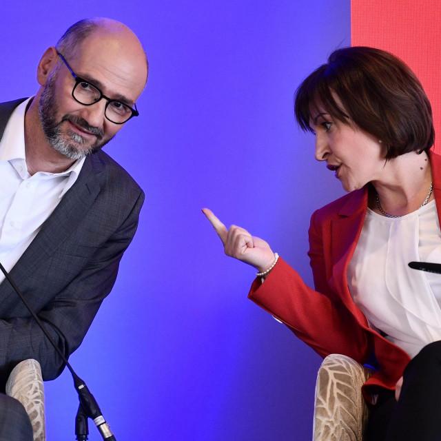 Joško Klisović i Jelena Pavičić Vukičević