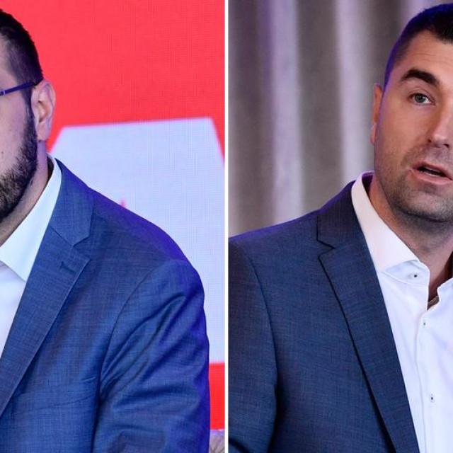 Tomislav Tomašević i Davor Filipović