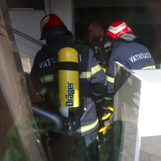 Vatrogasci u Valpovu, Ilustracija