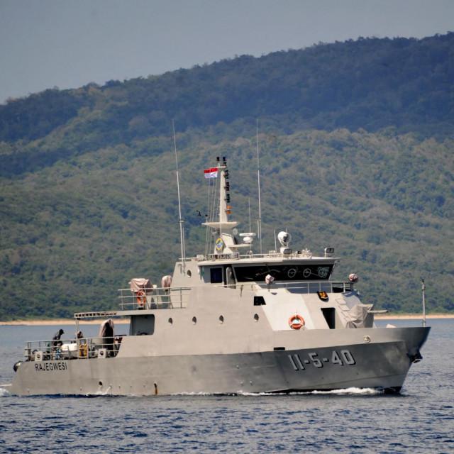 Indonezijski patrolni brod KRI Rajegwesi koji je sudjelovao u potrazi za podmornicom