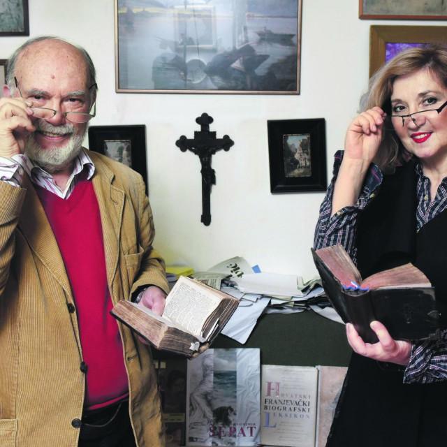 Josip Bratulić i Mirjana Dugandžija