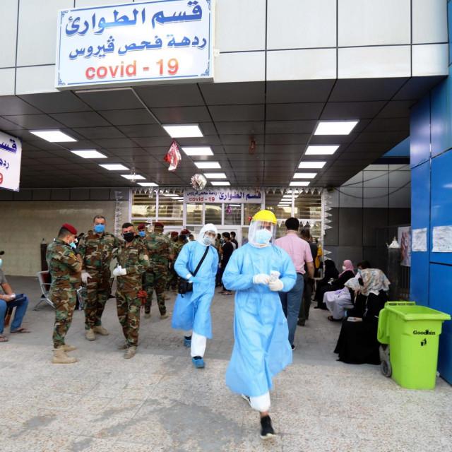 Covid bolnica u Bagdadu; ilustracija