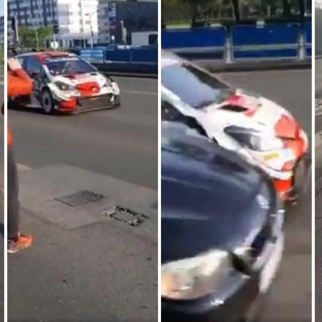Nesreća u kojoj je sudjelovao Sebastien Ogier