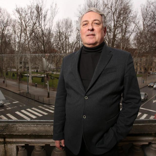 Ravnatelj Nacionalnog muzeja moderne umjetnosti Branko Franceschi.<br />