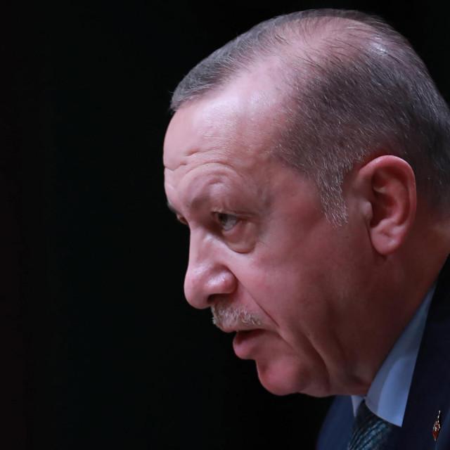 Turski predsjednik Recep Tayyip Erdogan