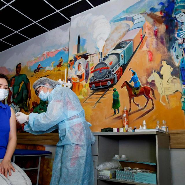 Ilustacija / Cijepljenje u Kazahstanu