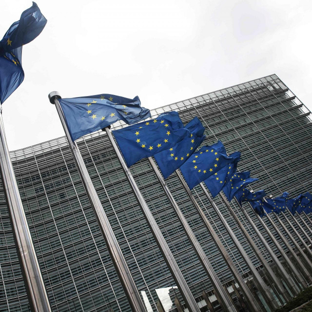 Ilustracija; sjedište Europske komisije u Bruxellesu