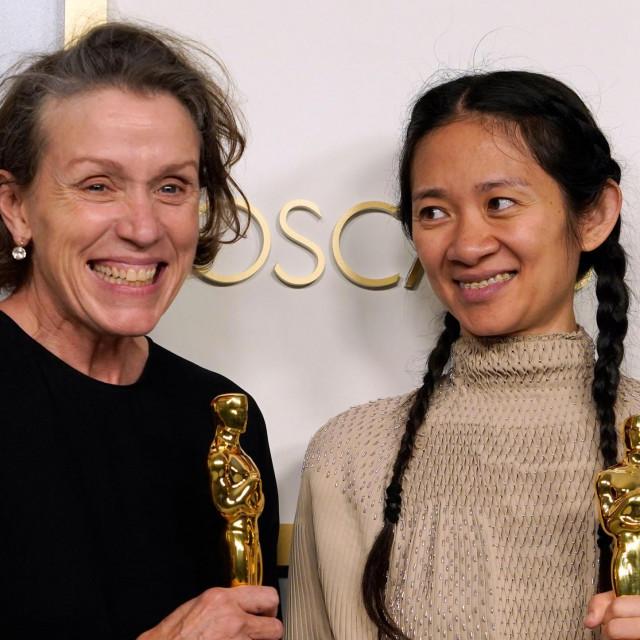Frances McDormand i Chloe Zhao