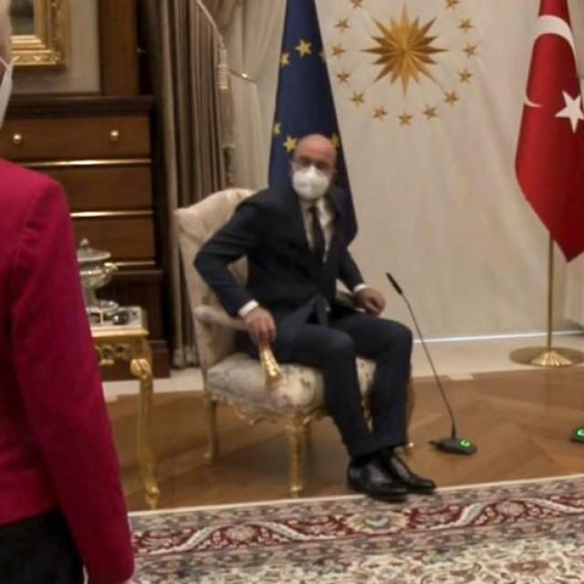 Ursula von der Leyen i Charles Michel u Turskoj