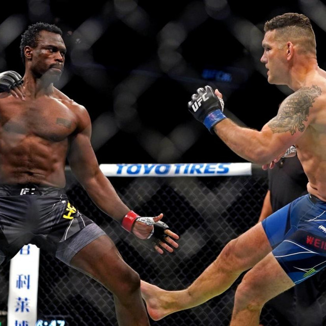 Uriah Hall i Chris Weidman