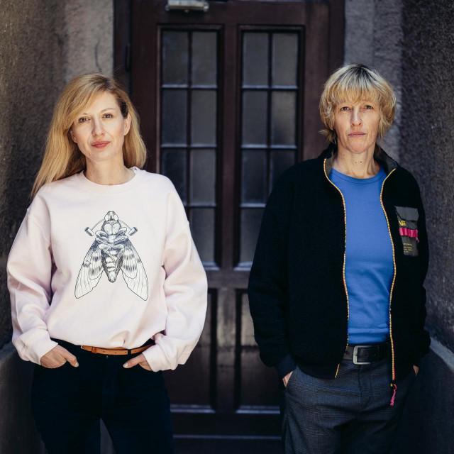 Barbara Matejčić i Ana Opalić<br /> Fotografija:Vedran Peteh/CROPIX