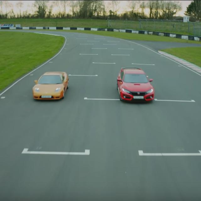Usporedba Honde Civic i NSX