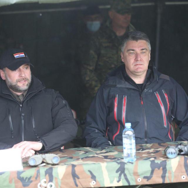 Mario Banožić i Zoran Milanović