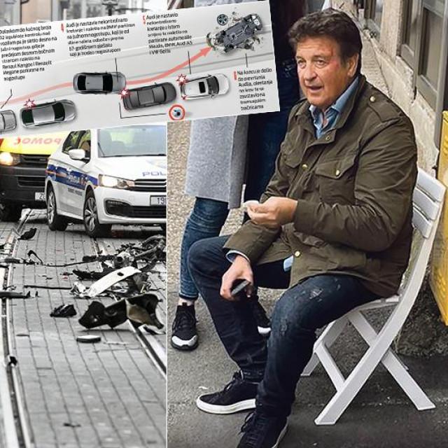 Prizor nesreće u Dubravi, rekonstrukcija nesreće i Boško Dimitrijević