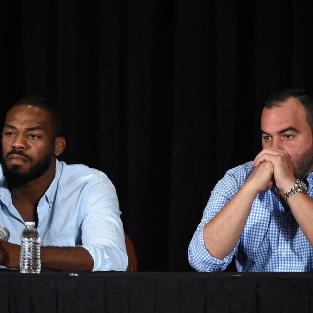 Jon Jones i Malki Kawa