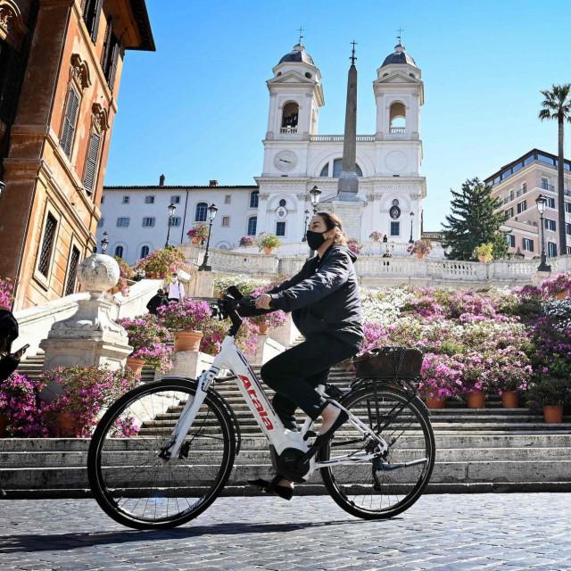 Biciklistica u Rimu