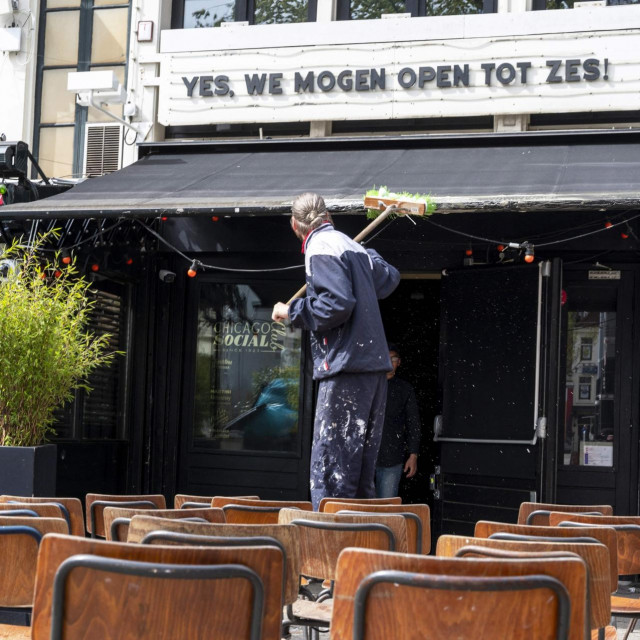 Kafić Amstel u Amsterdamu