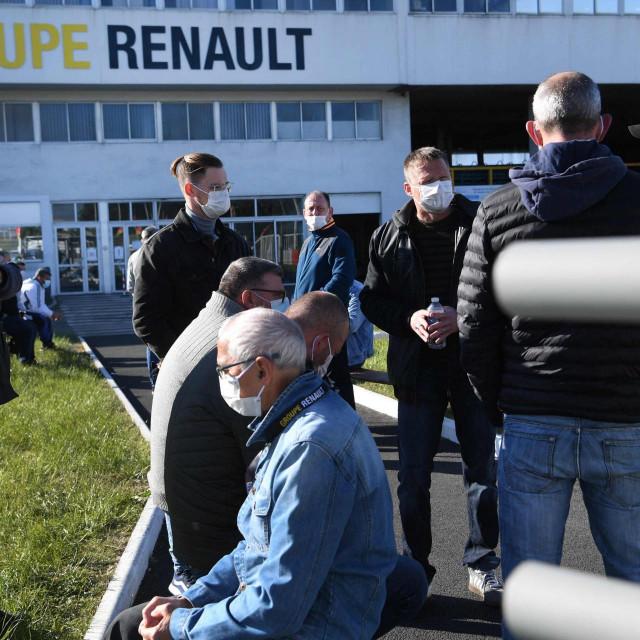 Štrajk zaposlenika Renaulta