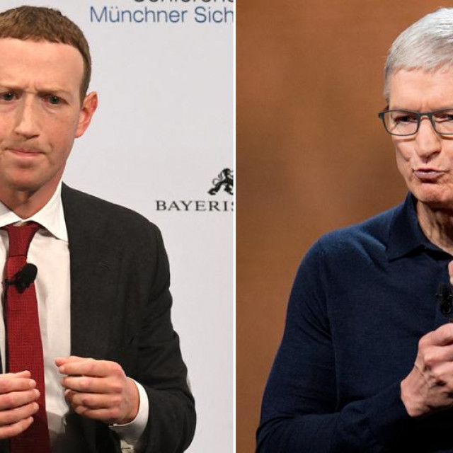 Mark Zuckerberg; Tim Cook