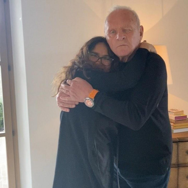 Salma Hayek i Anthony Hopkins