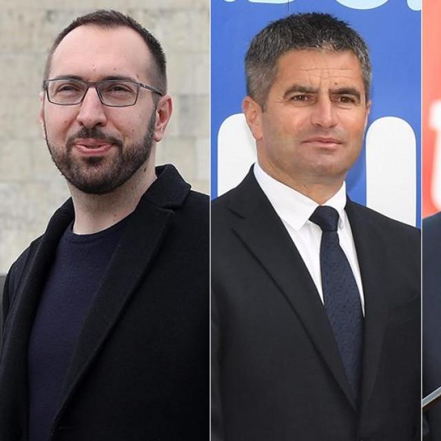 Tomislav Tomašević, Vice Mihanović, Marko Filipović i Ivan Radić