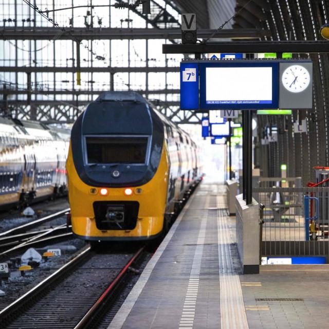 Željeznički kolodvor u Nizozemskoj