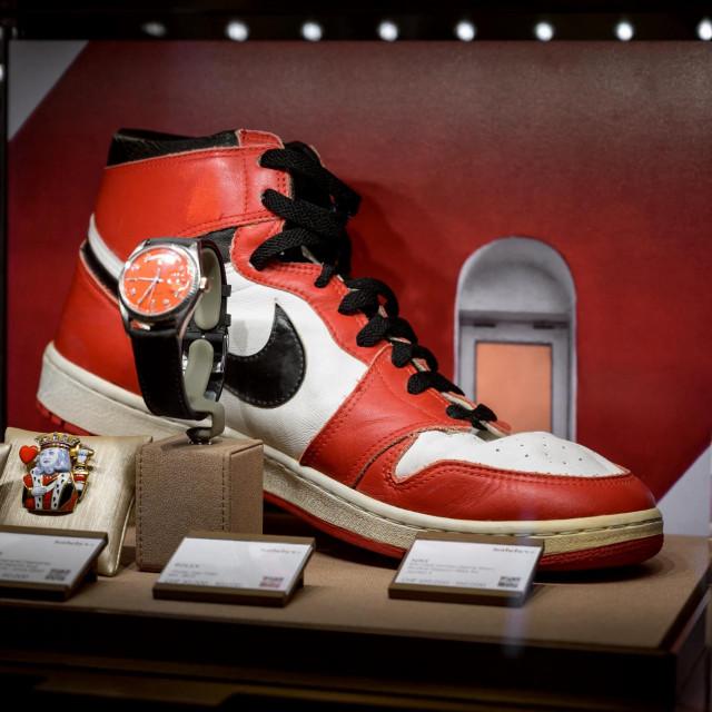 Kultni par tenisica Michaela Jordana ide na aukciju