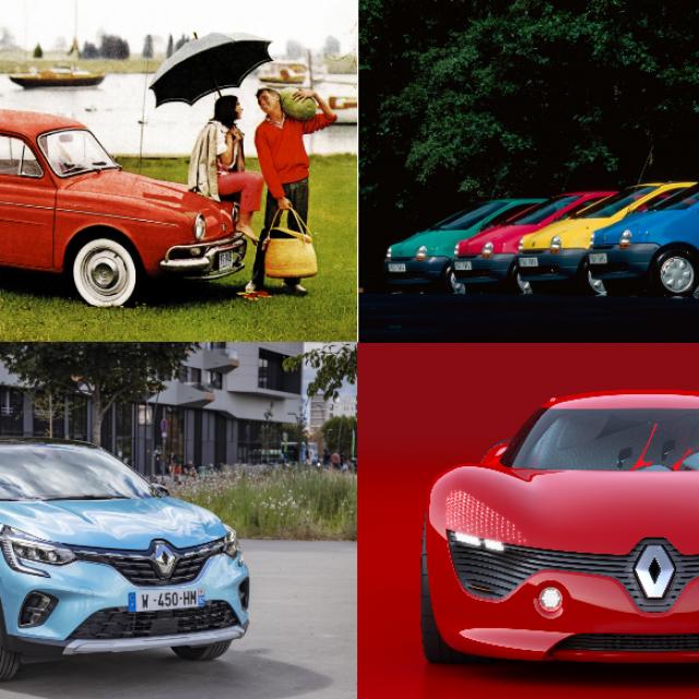 Renault, boje