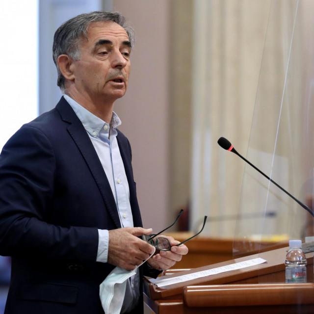 Predsjednik SNV-a Milorad Pupovac<br />