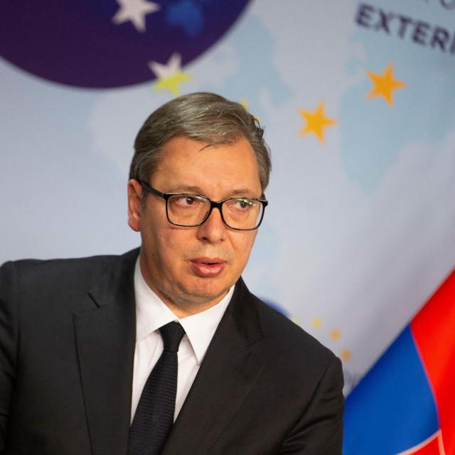 Srpski predsjednik Aleksandar Vučić