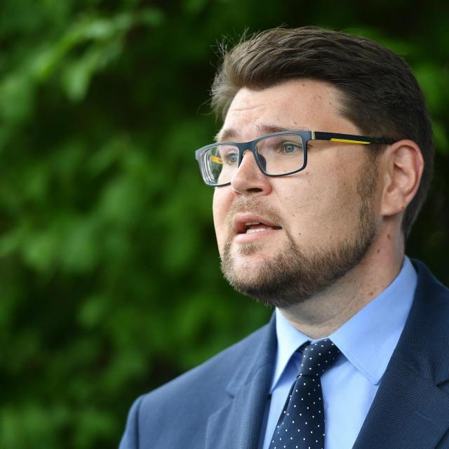 Predsjednik SDP-a Peđa Grbin