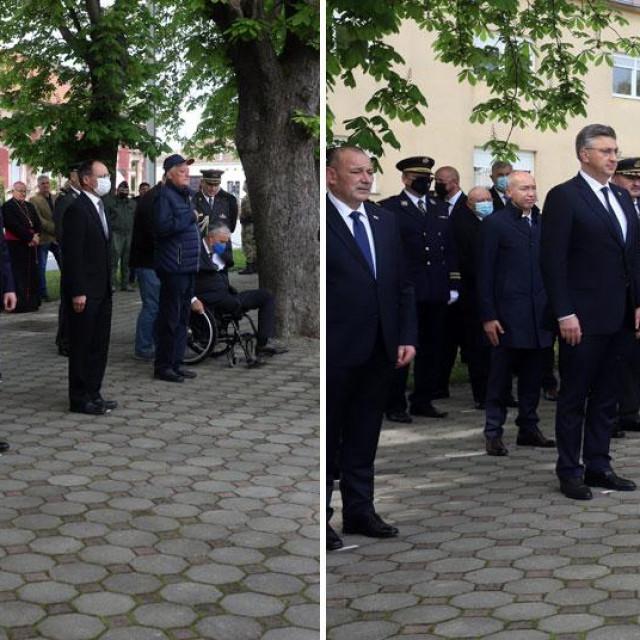 Zoran Milanović i Andrej Plenković s izaslanstvima