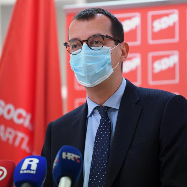 SDP-ov kandidat za gradonačelnika Rijeke, Marko Filipović