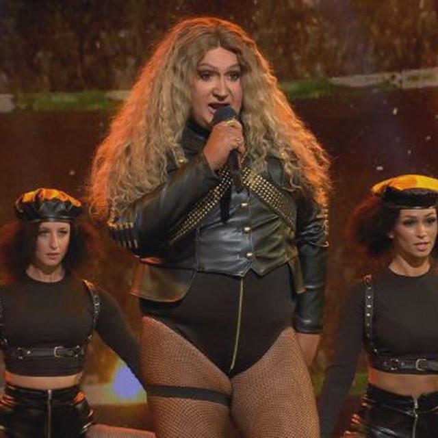 Dalibor Petko kao Beyonce u TLZP