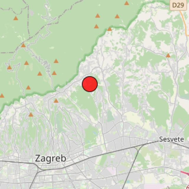 Potres kod Markuševca