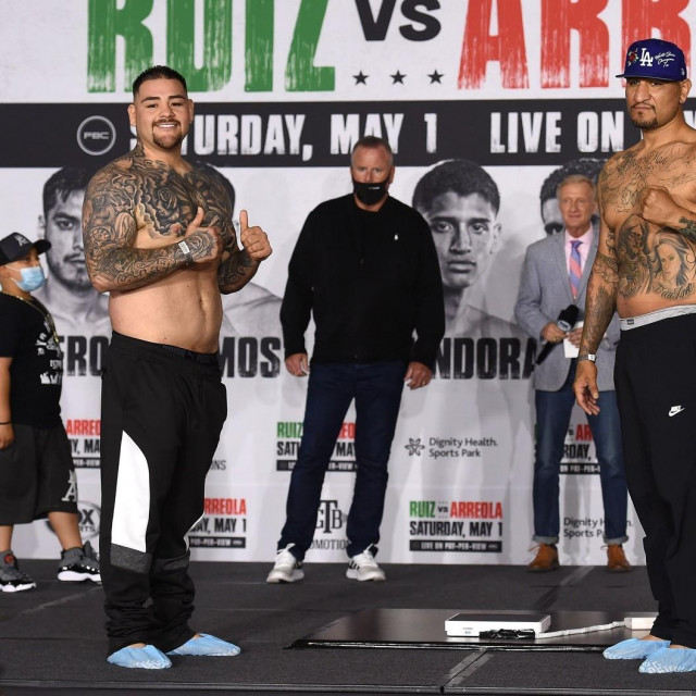 Andy Ruiz Jr. i Chris Arreola