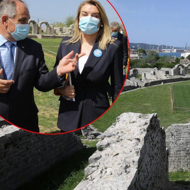 Blaženko Boban i Nikolina Brnjac u Saloni