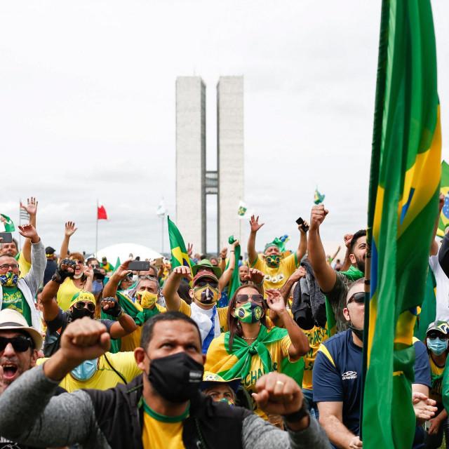 Prosvjed podrške Jairu Bolsonaru