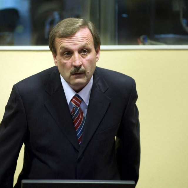Milan Martić na suđenju u Haagu