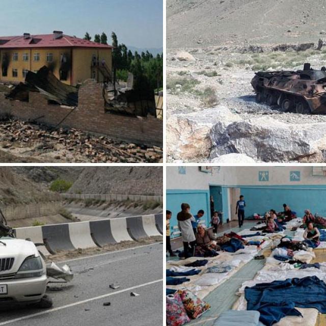 Sukob na granici Kirgistana i Tadžikistana