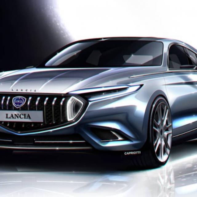 Lancia Anthea (render)