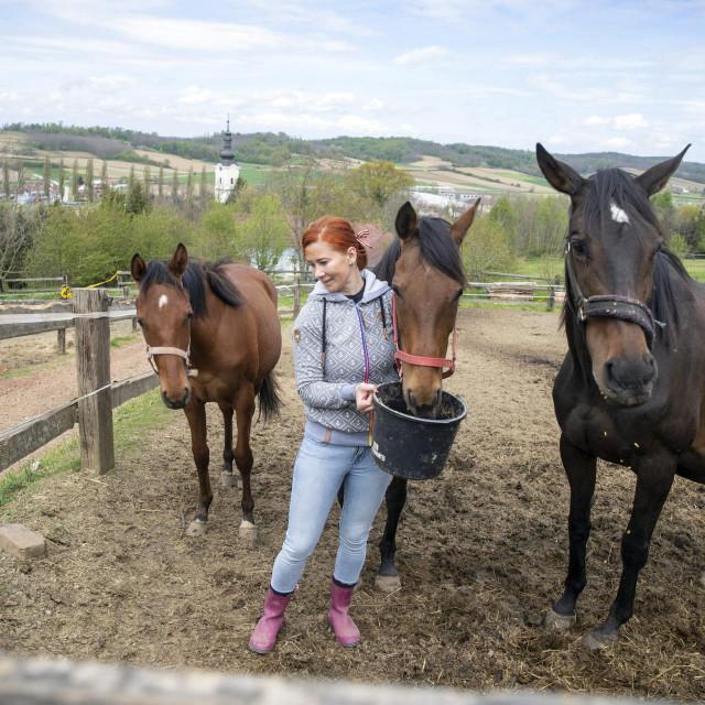 Tamara Rebić i konj Amor