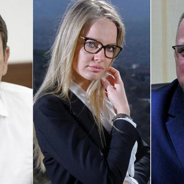 Ivan Budalić, Anita Nosić i Dalibor Domitrović
