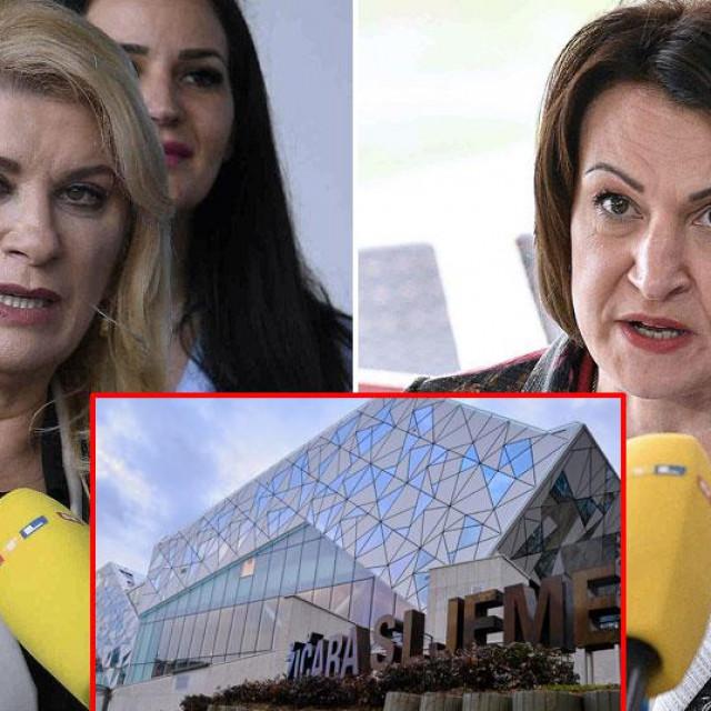 Vesna Škare Ožbolt i Jelena Pavičić Vukičević