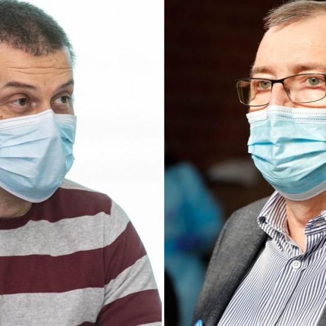 Ozren Polašek i Krunoslav Capak