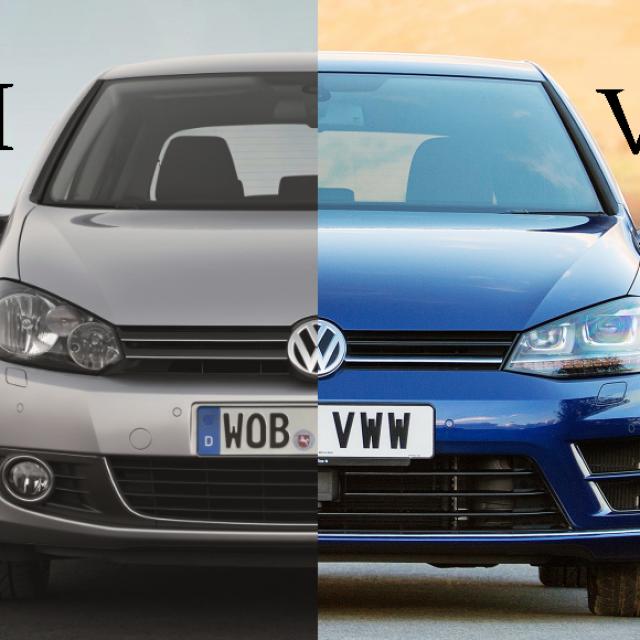 VW Golf 6 i 7