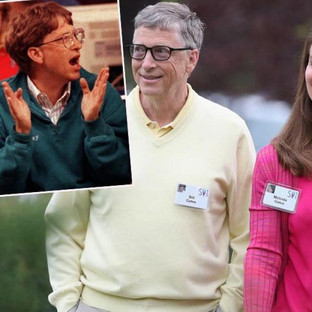 Bill i Melinda Gates na fotogrsfijama iz 1993. i 2015. godine