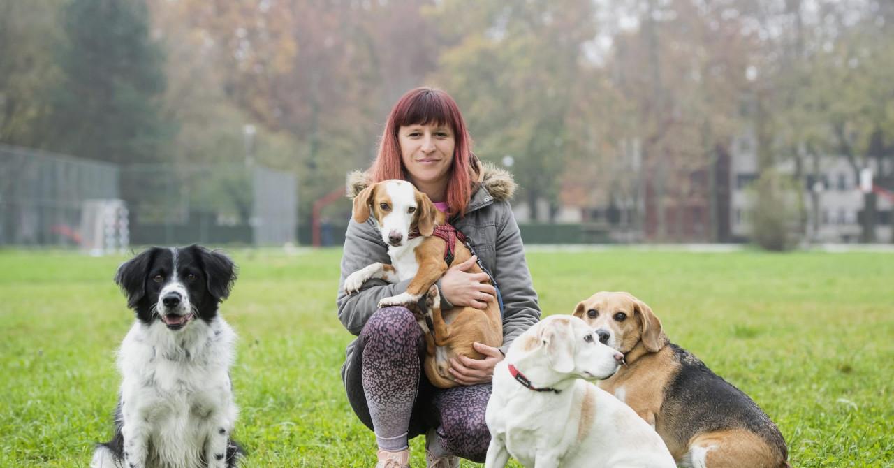 Spasila i udomila četiri psa: 'Uz njih sam naučila kako biti smirenija, nježnija i pozitivnija'