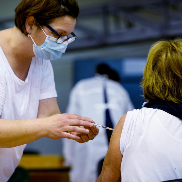 Cijepljenje u Šibeniku